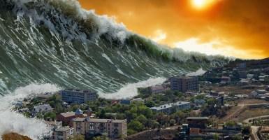 Cómo sobrevivir a un tsunami
