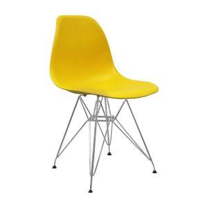 silla-nera-metalica-amarillo