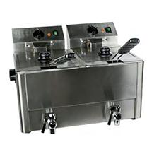 Freidora-electrica-10+10L-profesional-barata-mini