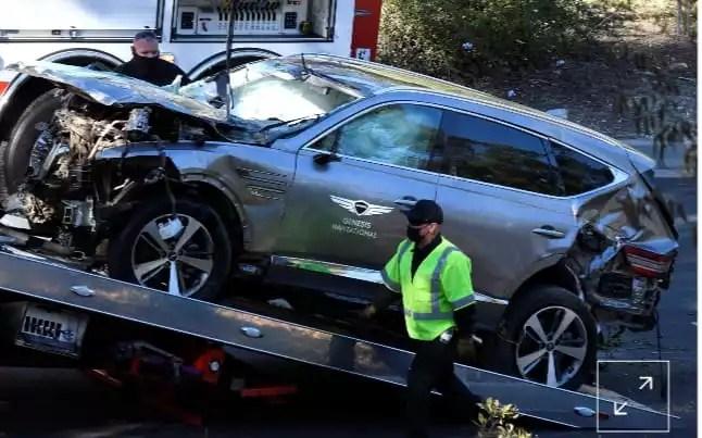 Tiger Woods sofre grave acidente nos Estados Unidos