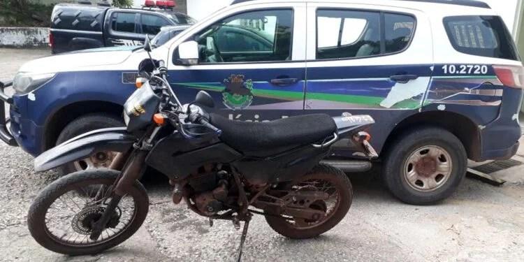 PM recupera Motocicleta furtada em Corumbá