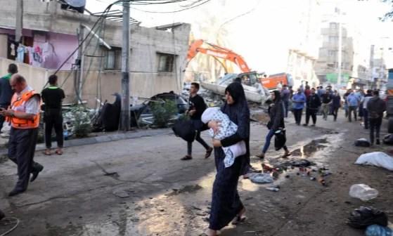 Novos ataques matam 33 na faixa de Gaza