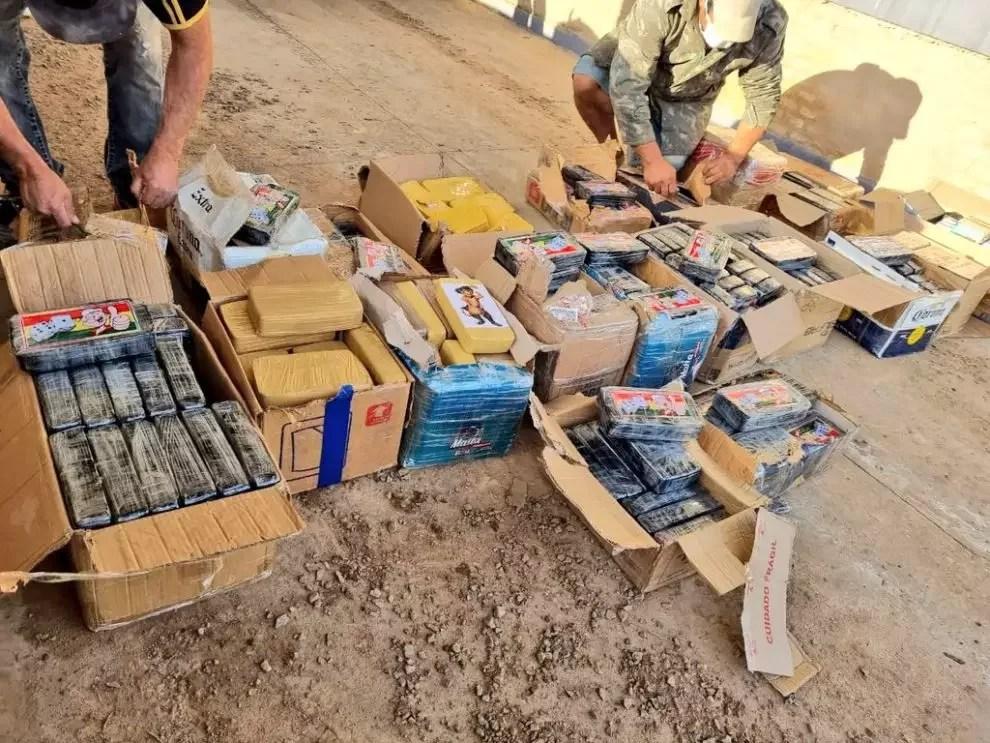 Caminhão com carga de cocaína é apreendido no Chaco paraguaio