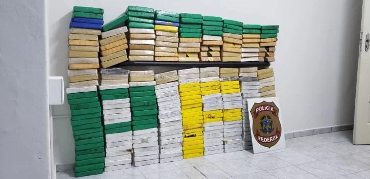Polícia Federal apreende cocaína na parte alta de Corumbá