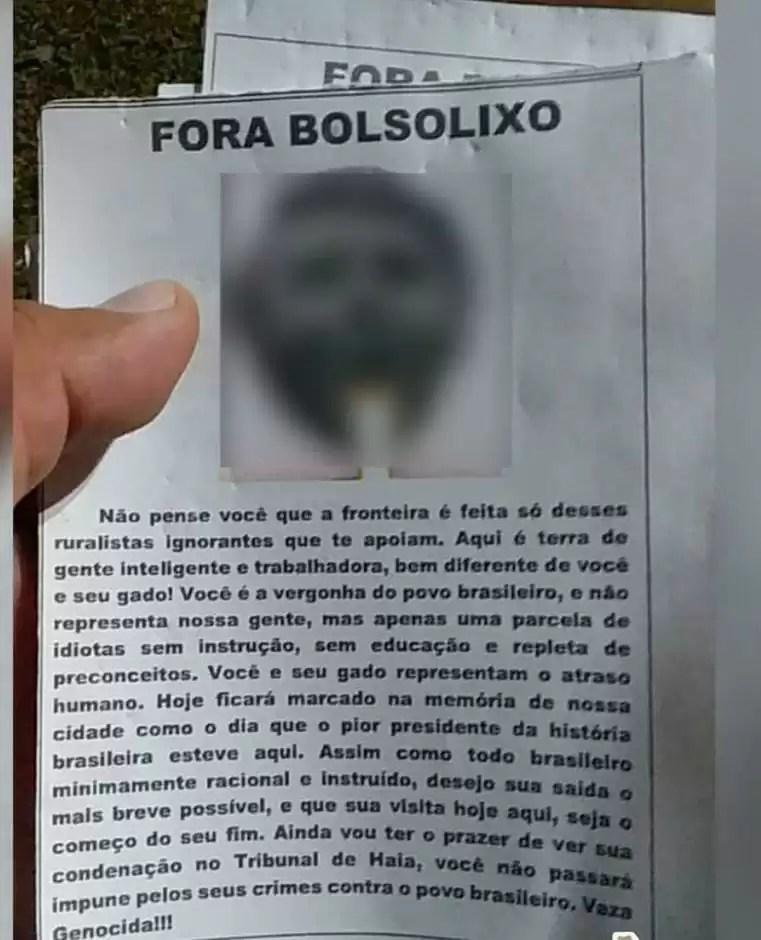 Líder News realizou cobertura completa da passagem de Bolsonaro por Ponta Porã