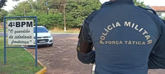 Polícia Militar prende homem em flagrante por efetuar disparo de arma de fogo contra um cachorro