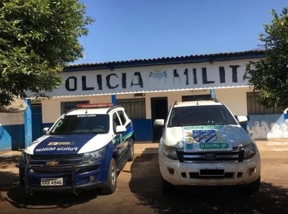 Em Eldorado, Polícia Militar apreende veículo adulterado