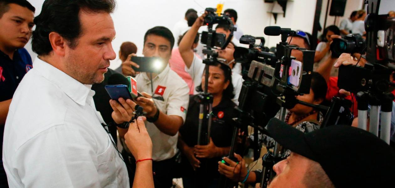 La aeronave asegurada con droga en Mahahual no necesariamente tenía a Cozumel como destino: Pedro Joaquín