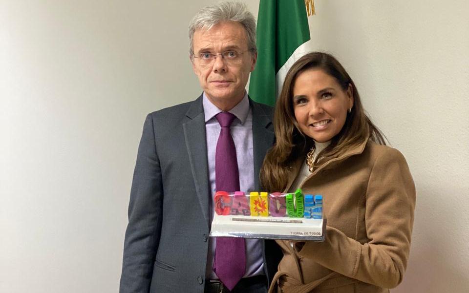 LOGRA MARA LEZAMA PRIMERA ALIANZA DE ACCIÓN PROMOCIONAL DE UN MUNICIPIO Y DESTINO CON LA EMBAJADA DE MÉXICO EN ESPAÑA