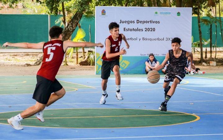 Tulum, sede Juegos CONADE 2020 en basquetbol y luchas