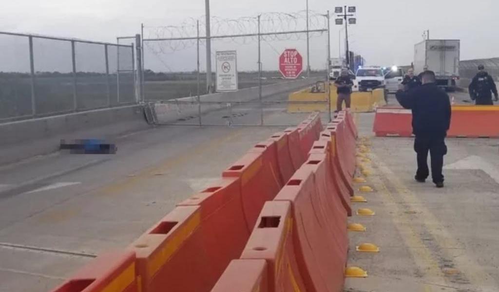 Hombre se suicida en puente fronterizo; le negaron la entrada a EUA
