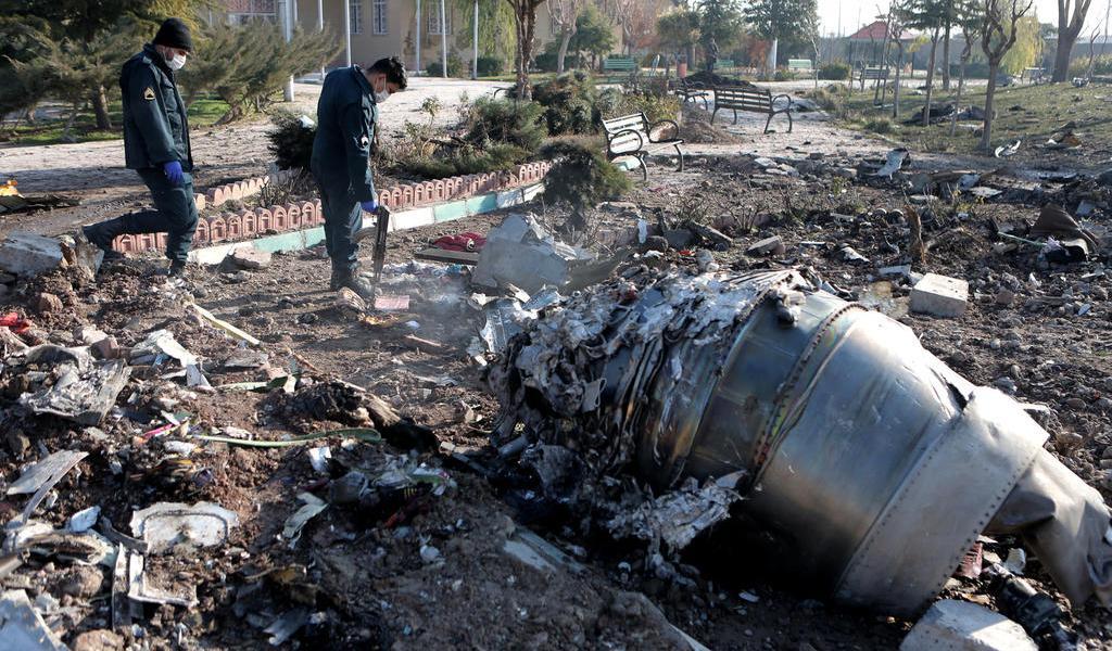 Aviación Civil de Irán asegura que ningún misil alcanzó el avión siniestrado