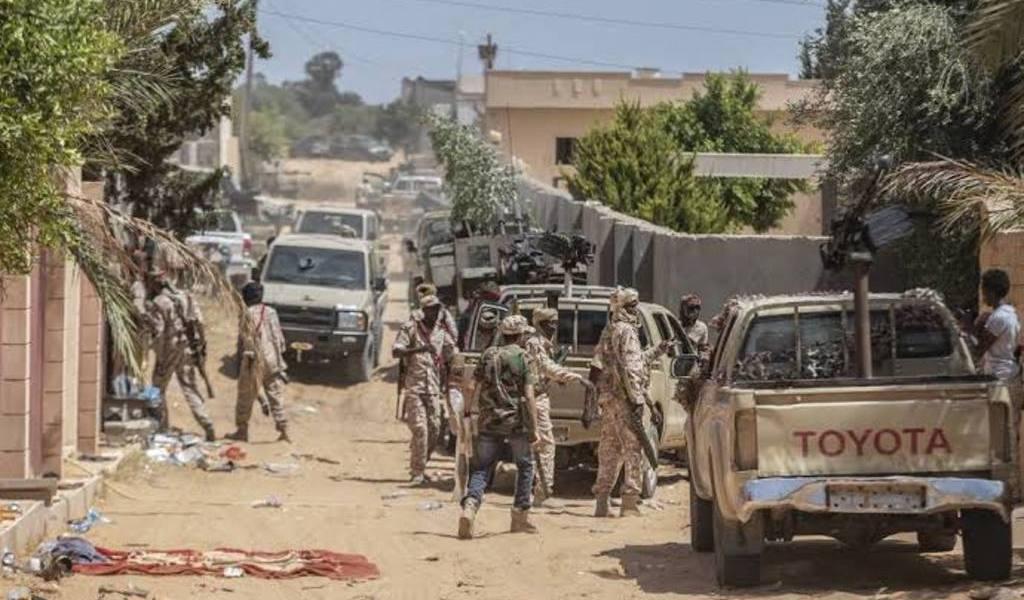 Anuncian tregua en Libia