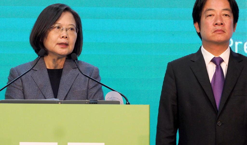 Taiwaneses no aceptan amenazas de China: presidenta de Taiwán