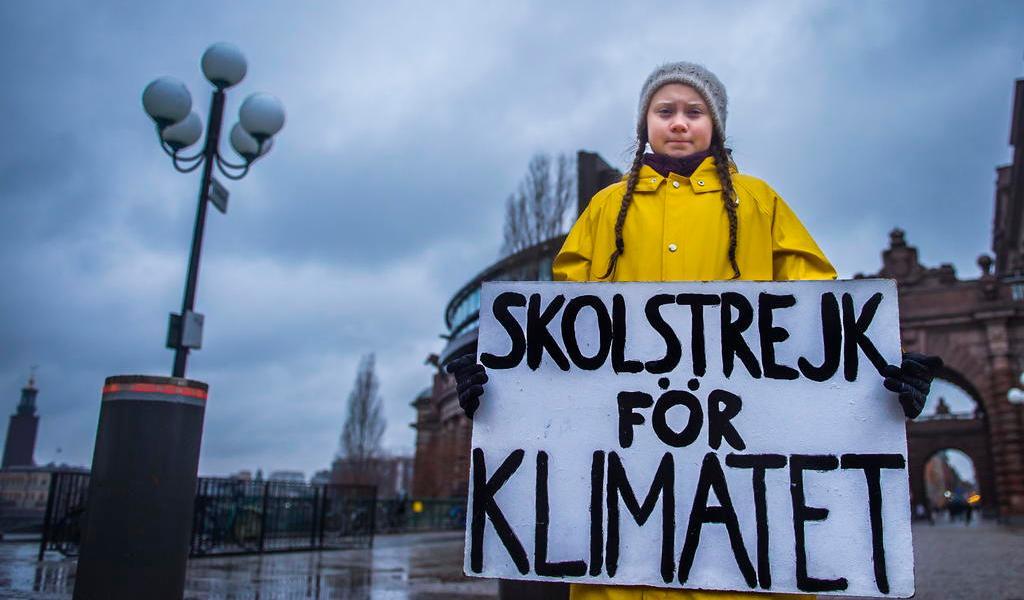 Detengan inversión en petróleo: Greta Thunberg