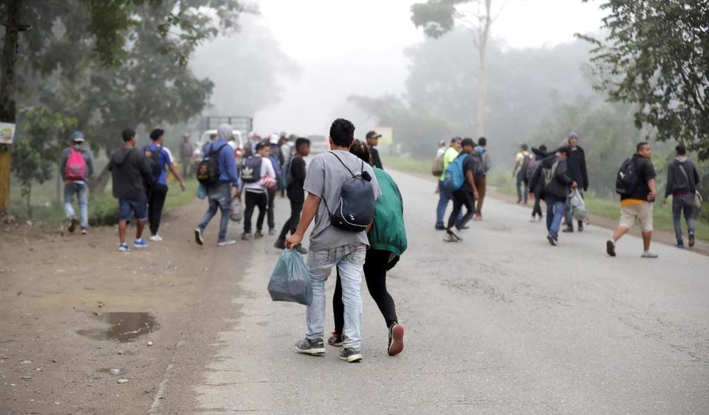 Intentará caravana de hondureños ingresar mañana a Guatemala
