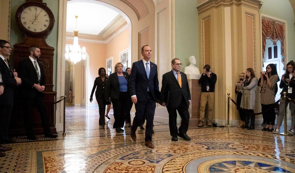 Senado de EUA inicia formalmente el juicio político a Trump