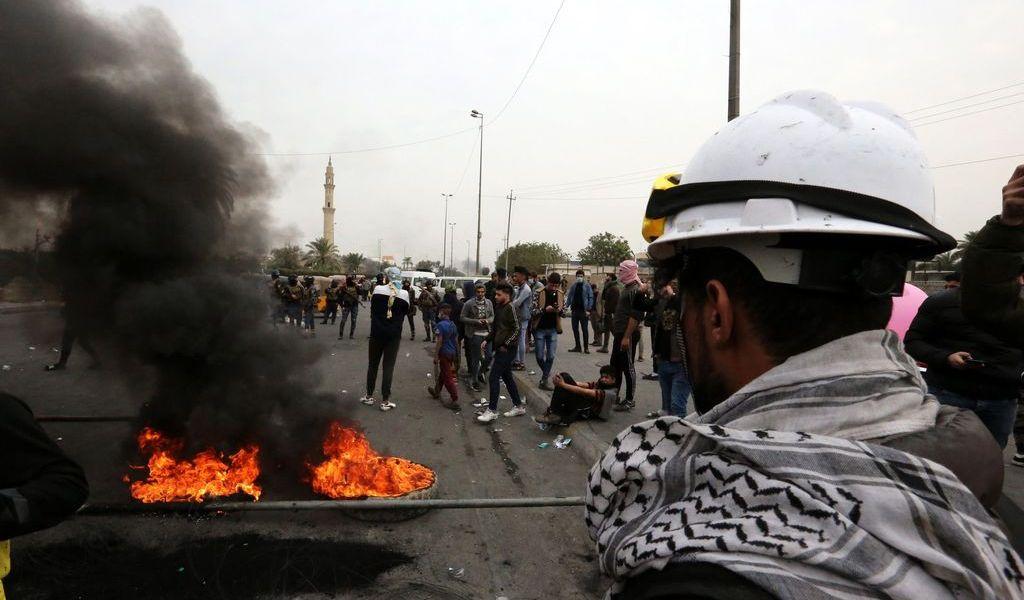Mueren 5 durante protestas en Irak
