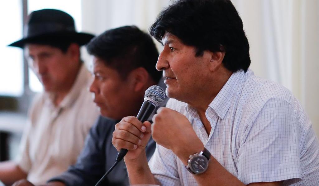 Asegura Morales que hizo de Bolivia un país 'próspero, con estabilidad y crecimiento'