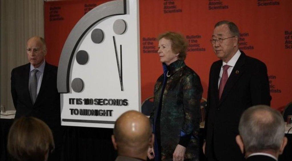 'Reloj del Apocalipsis', a 100 segundos para medianoche