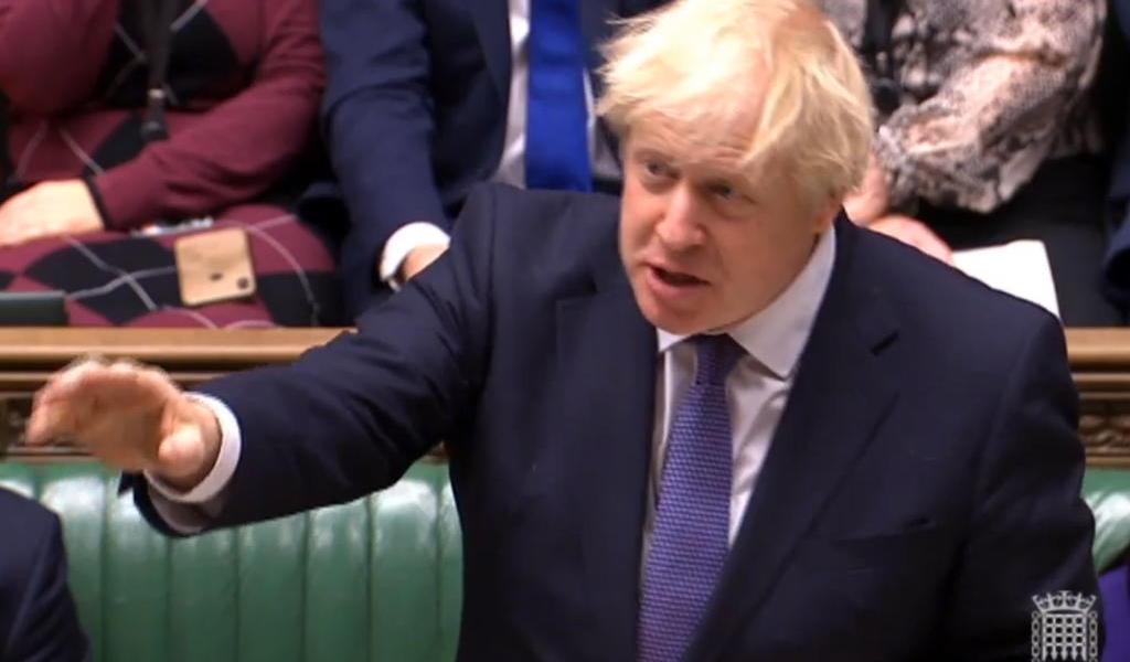 Firma Johnson el acuerdo de salida del Reino Unido de la Unión Europea