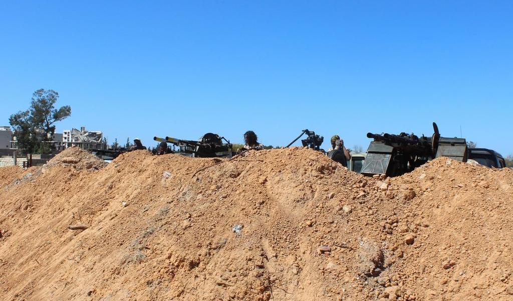 Trípoli reconsiderará su posición en el cese al fuego