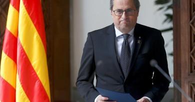 Líder de Cataluña convocará a elecciones adelantadas