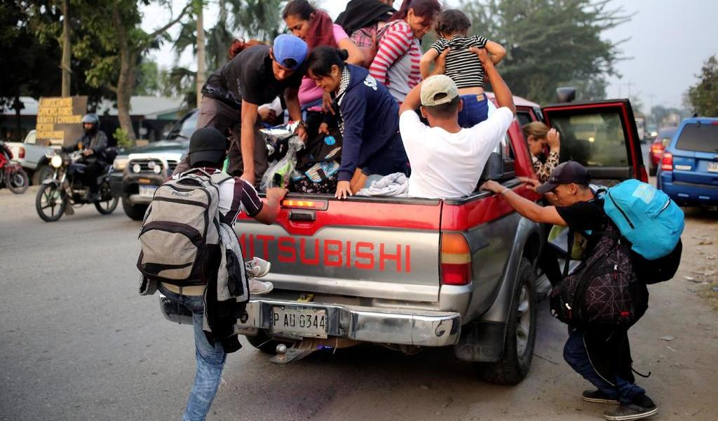 Sale desde Honduras segunda caravana migrante del 2020