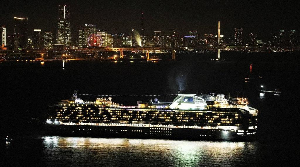 Japón pone en cuarentena barco con 3,500 pasajeros por caso de coronavirus
