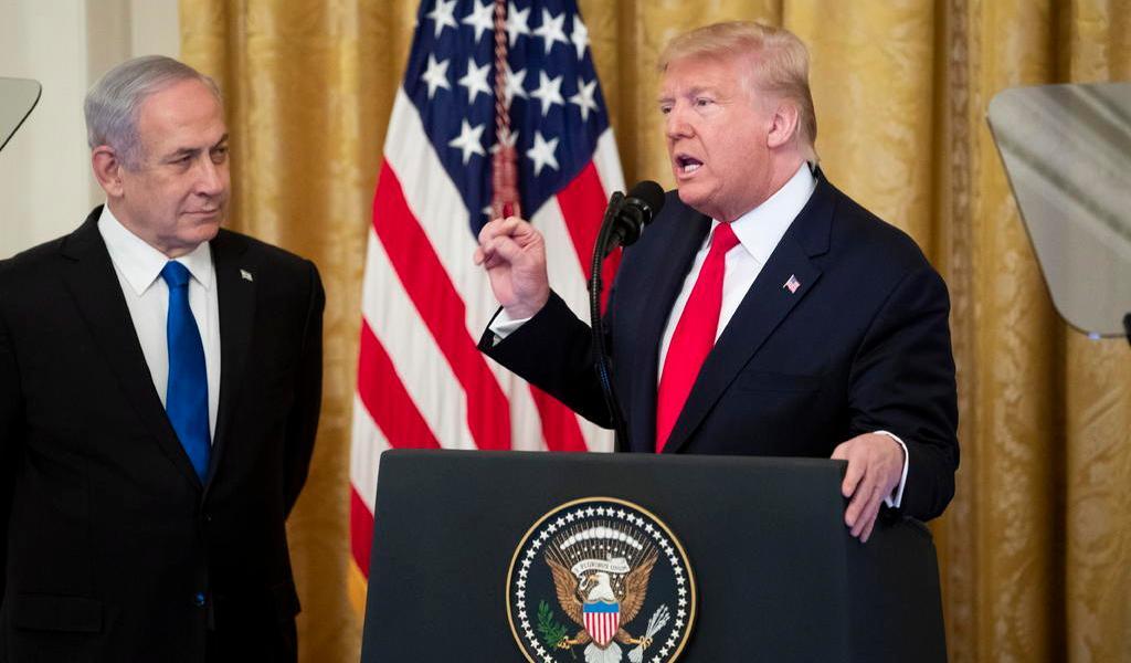 Rechaza Unión Europea el 'Acuerdo del Siglo' de Trump para Medio Oriente