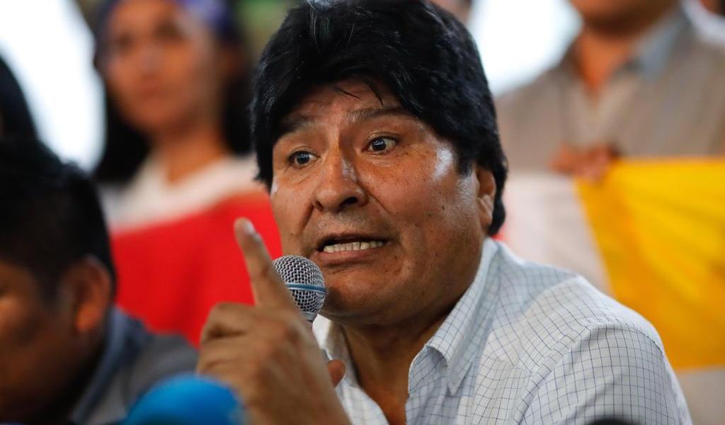 Justifica Evo Morales su candidatura por supuestas amenazas de EUA