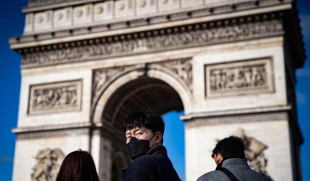 Francia anuncia cinco nuevos casos del coronavirus