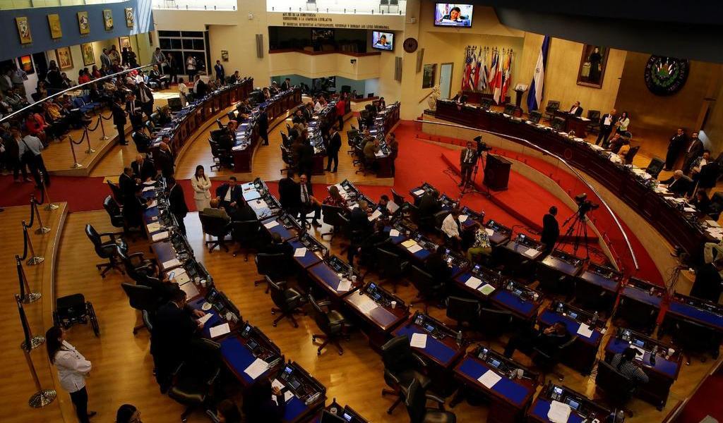 Congreso salvadoreño convoca a plenaria para aprobar préstamo para seguridad
