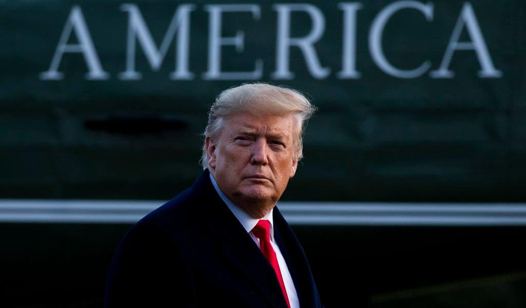 Donald Trump plantea destinar dos mmdd al muro fronterizo