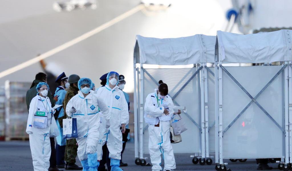 Sube a 130 la cifra de personas infectadas por coronavirus en crucero