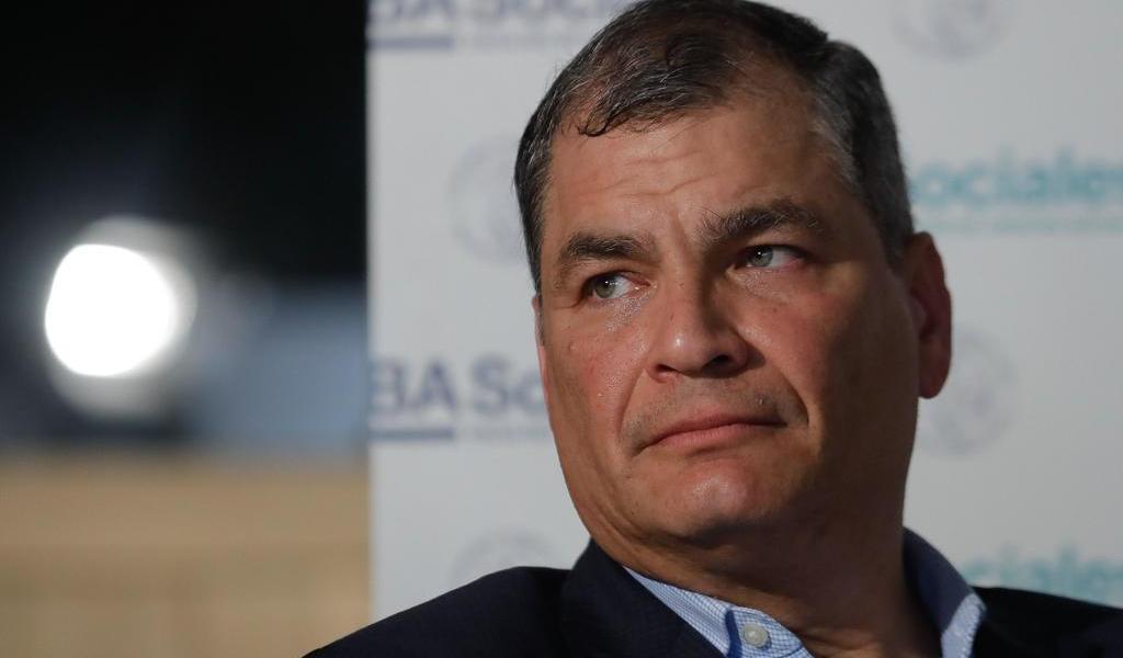 Inicia juicio contra el expresidente Rafael Correa por el caso 'Sobornos'