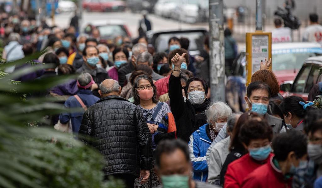 Bajan por segundo día los casos nuevos del coronavirus en China