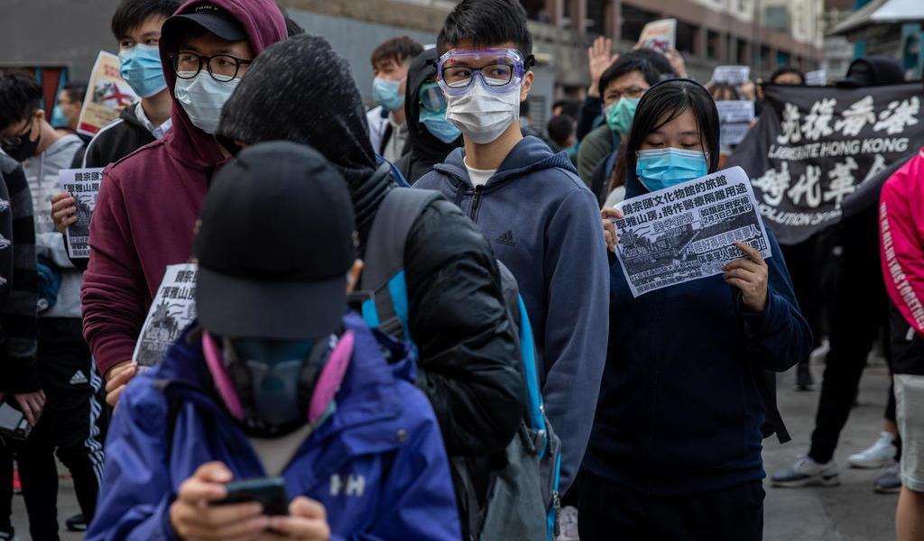 Se paralizan protestas en Hong Kong