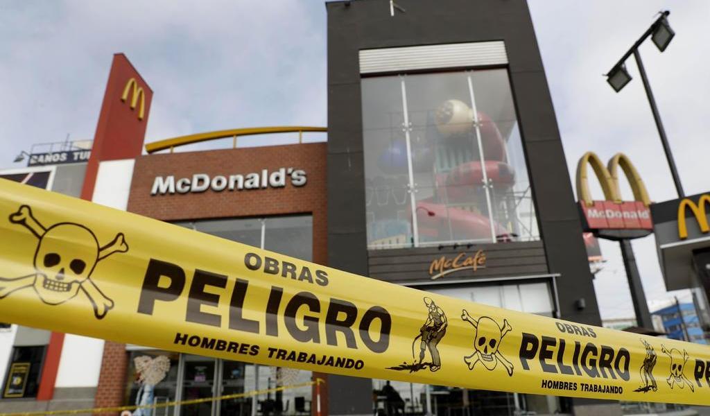 Por tragedia en McDonald's, imponen seguro obligatorio para trabajadores peruanos
