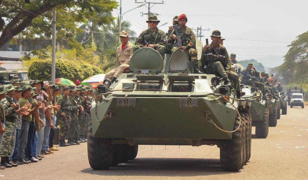 Finaliza Venezuela ejercicios militares