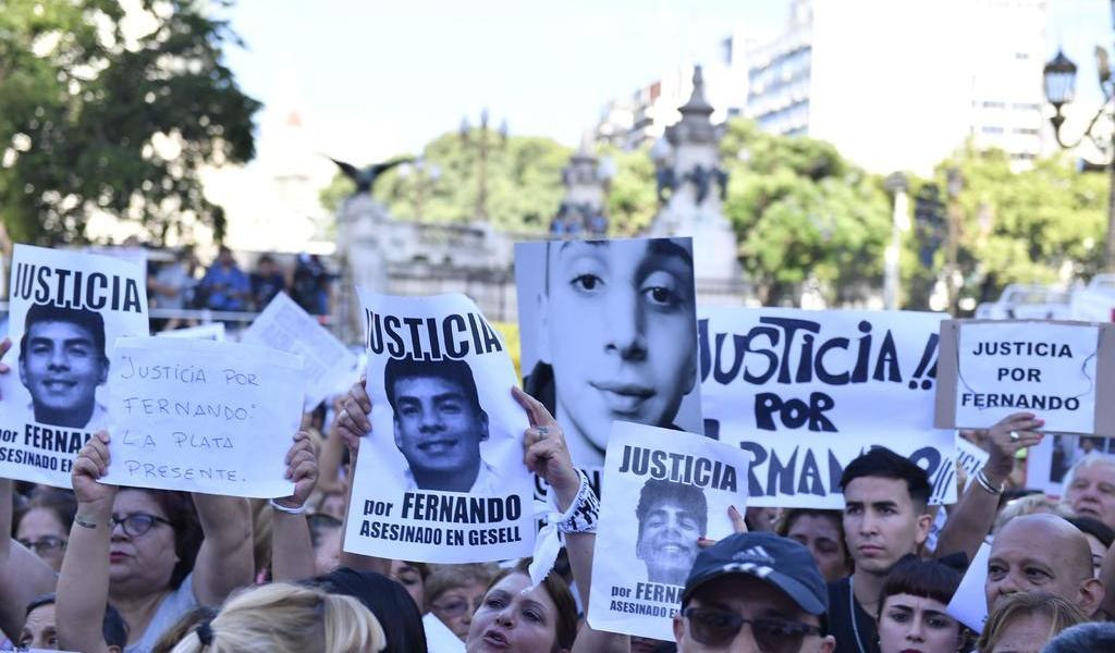 Exigen justicia por joven asesinado en Argentina
