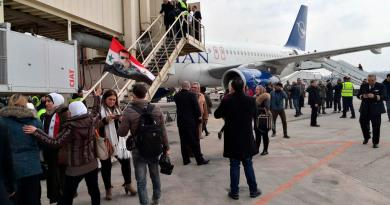 Aterriza por primera vez en ocho años un vuelo comercial en Alepo