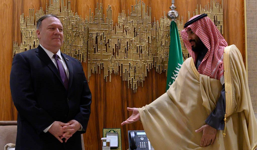 Desde Arabia Saudí, Pompeo asegura que la 'disuasión' frente a Irán funciona