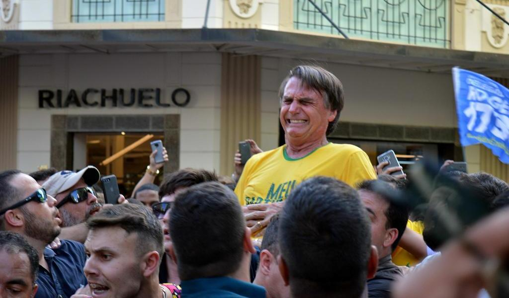 Cambiarán de cárcel a agresor de Bolsonaro