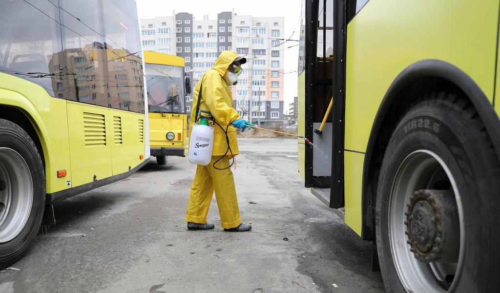 Registra Ucrania su primer caso del nuevo coronavirus