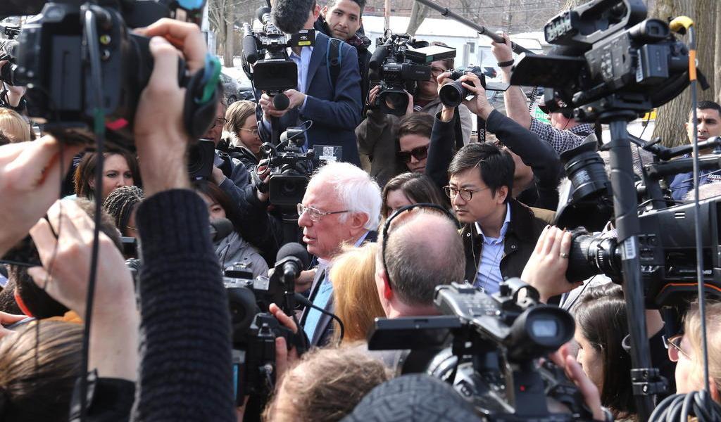 Sanders y Biden inauguran supermartes con victorias en Vermont y Virginia