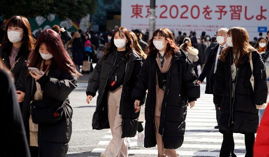 Japón llega a los mil casos de COVID-19
