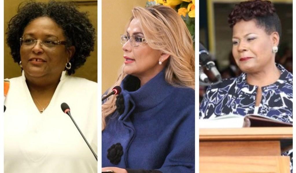 En América, solo tres mujeres gobernantes