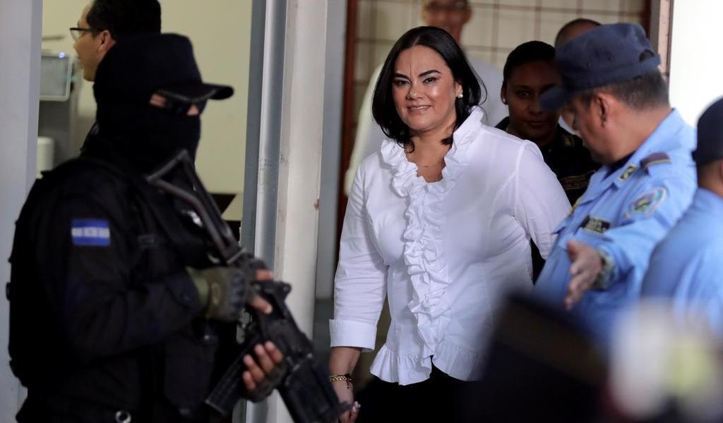 Anulan juicio a ex primera dama en Honduras; habrá nuevo proceso