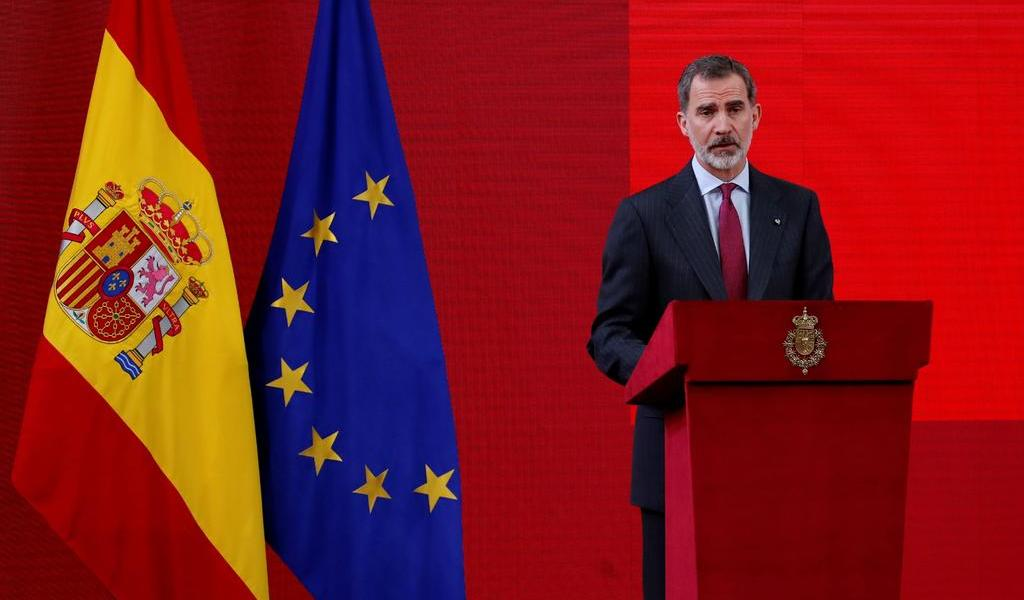 Rey Felipe VI de España renuncia a la herencia de su padre
